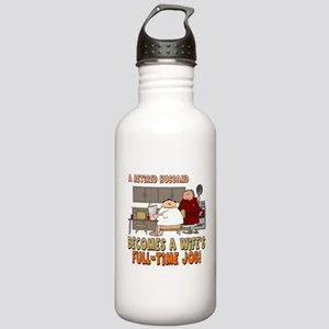 Retired Husband Stainless Water Bottle 1.0L